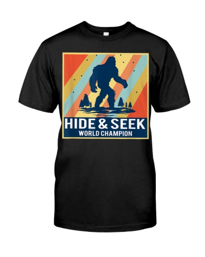 Hide And Seek Champion Bigfoot