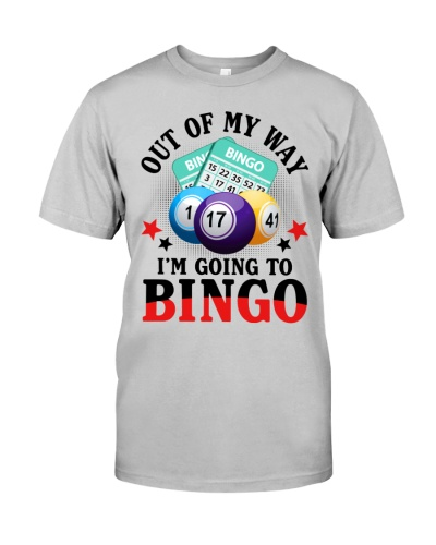 Out Of My Way I'm Going To Bingo White