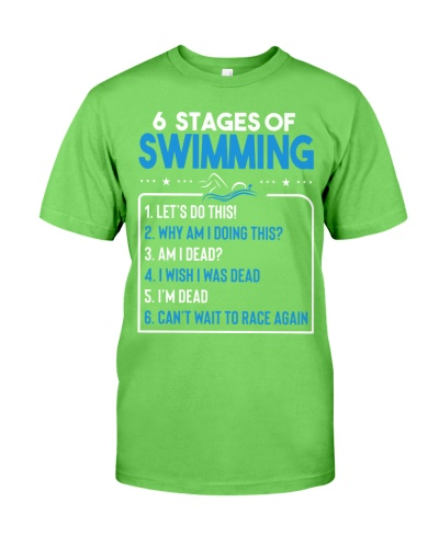 6 Stages Of Swimming