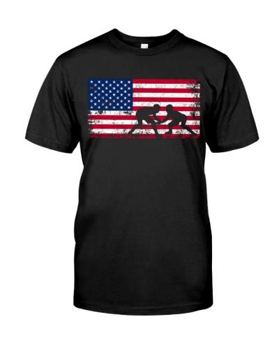 American Flag Wrestling