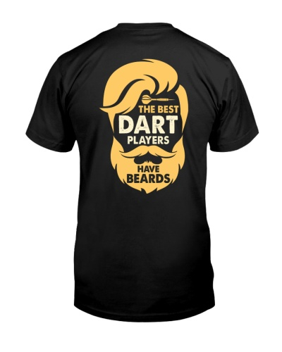 The Best Dart Players Have Beards Backside