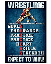 Wrestling Success 11x17 Poster front