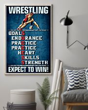 Wrestling Success 11x17 Poster lifestyle-poster-1