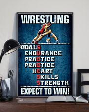 Wrestling Success 11x17 Poster lifestyle-poster-2