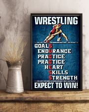 Wrestling Success 11x17 Poster lifestyle-poster-3