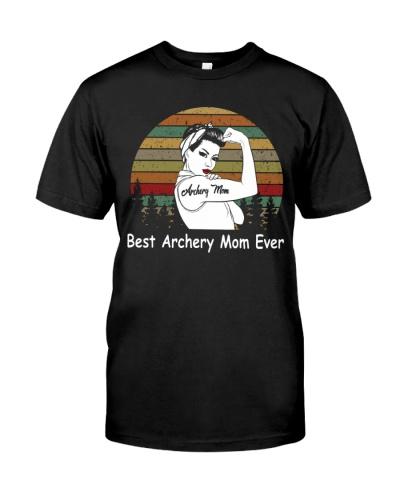 Best Archery Mom Ever Vintage