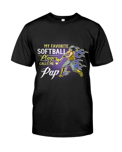 Softball Player Calls Me Pap