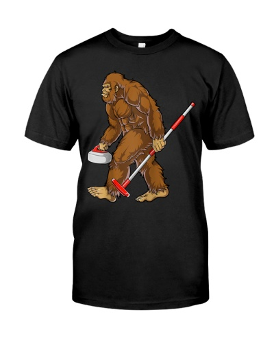 Curling Bigfoot