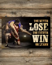 Wrestling You Never Lose Poster 17x11 Poster aos-poster-landscape-17x11-lifestyle-14
