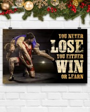 Wrestling You Never Lose Poster 17x11 Poster aos-poster-landscape-17x11-lifestyle-28