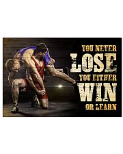 Wrestling You Never Lose Poster 17x11 Poster front