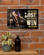 Wrestling You Never Lose Poster 17x11 Poster poster-landscape-17x11-lifestyle-23