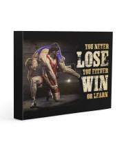 Wrestling You Never Lose Poster 14x11 Gallery Wrapped Canvas Prints thumbnail
