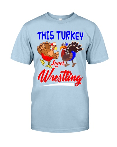 This Turkey Loves Wrestling