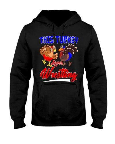 This Turkey Loves Wrestling