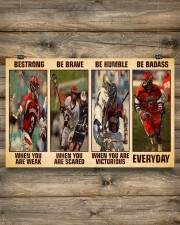 Lacrosse Be Strong 17x11 Poster aos-poster-landscape-17x11-lifestyle-14