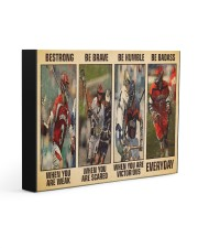 Lacrosse Be Strong 14x11 Gallery Wrapped Canvas Prints thumbnail