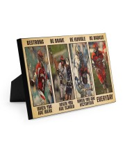 Lacrosse Be Strong 10x8 Easel-Back Gallery Wrapped Canvas thumbnail
