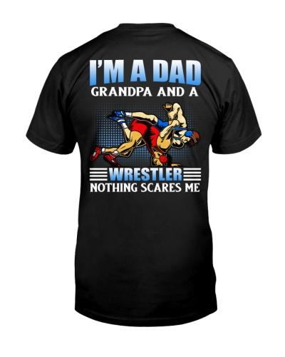 Dad Grandpa Wrestler