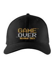 Game Over Retired 2021 Orange Embroidered Hat front