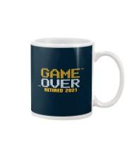Game Over Retired 2021 Orange Mug thumbnail