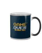 Game Over Retired 2021 Orange Color Changing Mug thumbnail