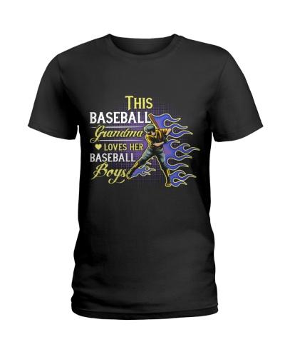 This Baseball Grandma Loves Her Baseball Boys