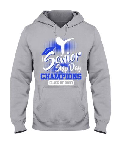 Taekwondo-senior 2020 Skip Day Blue