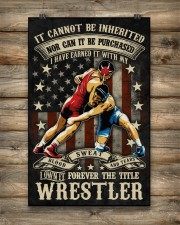 Wrestling The Title Wrestler Poster 11x17 Poster aos-poster-portrait-11x17-lifestyle-14