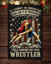 Wrestling The Title Wrestler Poster 11x17 Poster aos-poster-portrait-11x17-lifestyle-22
