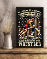 The Title Wrestler Poster 11x17 Poster lifestyle-poster-3