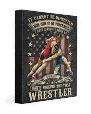 The Title Wrestler Poster Gallery Wrapped Canvas Prints tile