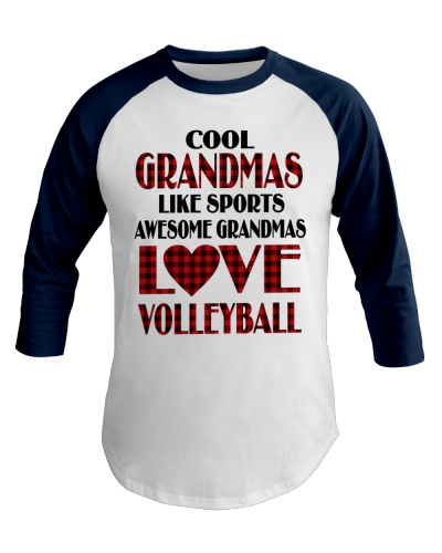 Awesome Grandmas Love Volleyball