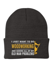 Woodworking Old Man Problems Knit Beanie tile