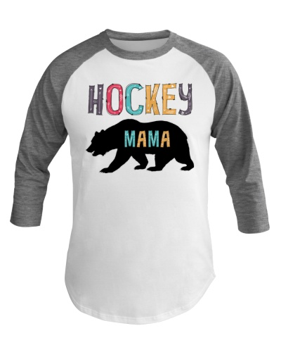 Hockey Mama Bear Hockey Mom