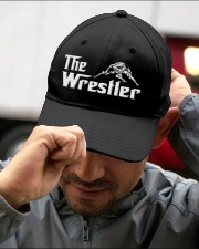 The Wrestler Wrestling Embroidered Hat garment-embroidery-hat-lifestyle-01