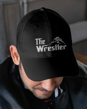 The Wrestler Wrestling Embroidered Hat garment-embroidery-hat-lifestyle-02