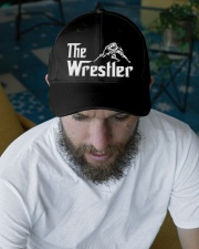 The Wrestler Wrestling Embroidered Hat garment-embroidery-hat-lifestyle-06