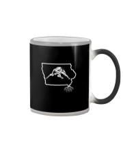 Wrestling Iowa State Roots Color Changing Mug tile