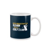 Old Man With A Golf Club Mug thumbnail