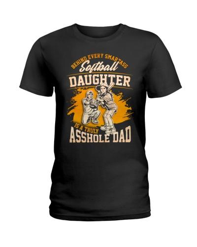 Smartass Softball Daughter