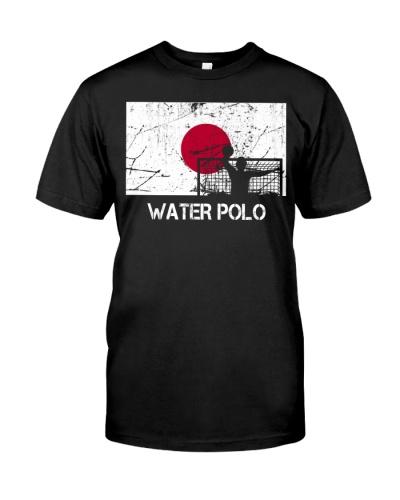 Japan Flag Water Polo