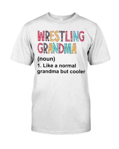 Wrestling Grandma Definition
