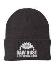 Woodworking Saw Dust Is Just Grandpa Knit Beanie tile