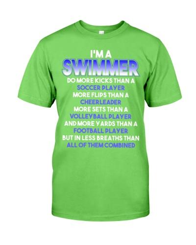 I Am A Swimmer