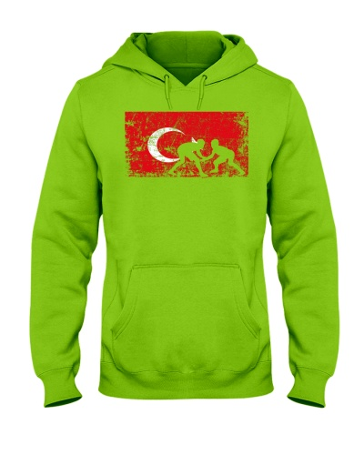 Wrestling Turkey Flag