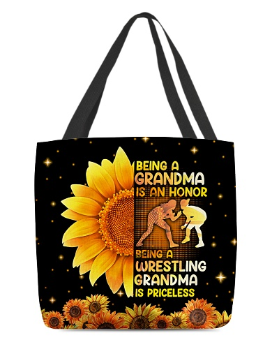 Wrestling Grandma Is Priceless