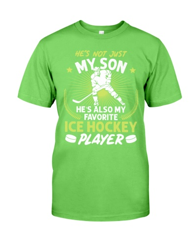 Son Ice Hockey Player