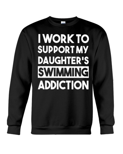 I Work To Support My Daughter's Swimming
