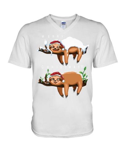 Teehappy Sloth Christmas